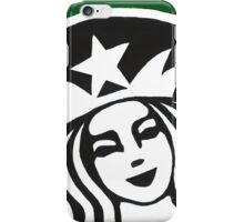 Starbucks Painting iPhone Case/Skin