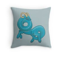 Dragon Monster Throw Pillow