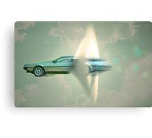 supersonic Delorean Canvas Print