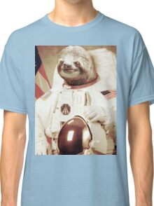 Astronaut Sloth Classic T-Shirt