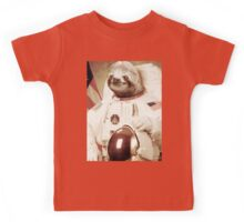 Astronaut Sloth Kids Tee