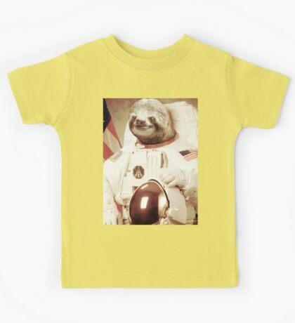 Astronaut Sloth Kids Tee