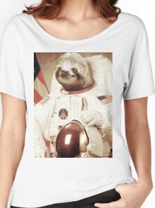 Astronaut Sloth Women's Relaxed Fit T-Shirt