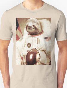 Astronaut Sloth Unisex T-Shirt