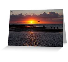 Sunset at Ricketts Point  Greeting Card