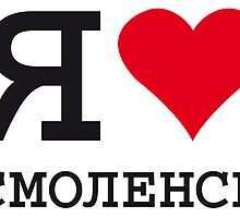 I ♥ SMOLENSK by eyesblau