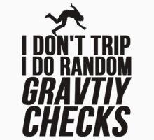 RANDOM GRAVITY CHECKS by Alan Craker