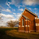 Tarrawingee Church by Natalie Ord
