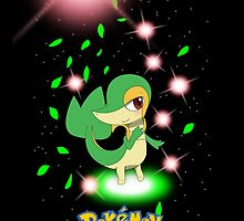 "Start With Snivy ""IPHONEs only"" by Winick-lim"