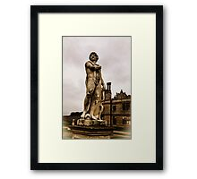 Statue at Kirby Hall Framed Print