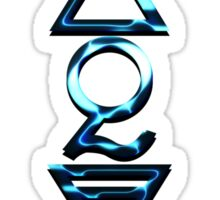 FOUR ELEMENTS PLUS ONE V  - midnight water Sticker