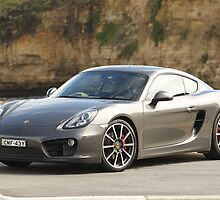 Porsche Cayman S — Great Ocean Road — 2013 by Pavle