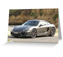 Porsche Cayman S — Great Ocean Road — 2013 Greeting Card