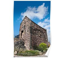 St Margaret's Chapel in Edinburgh Castle Poster