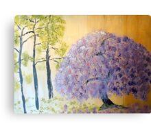 Shining Wisteria Tree Canvas Print
