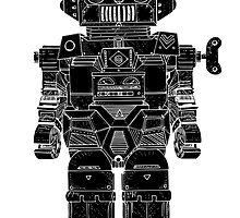 Robot Toy by SJIllustration