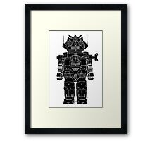 Robot Toy Framed Print