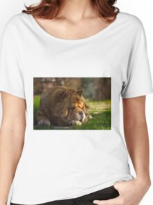 Spring sunbathing - Chow-Chow Women's Relaxed Fit T-Shirt