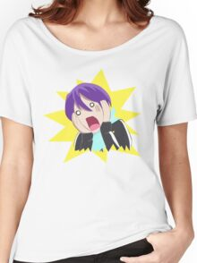 「Noragami」 : Essentially a Scared Yato Women's Relaxed Fit T-Shirt