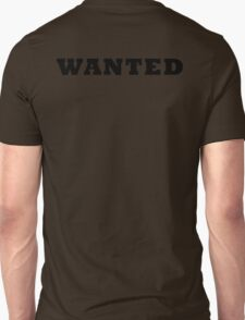 WANTED COOL RETRO DESIGN T-Shirt