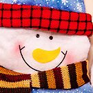 Happy Snowman Christmas Card by digihill