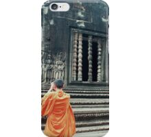 Monk @ Angkor Wat iPhone Case/Skin