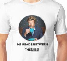 The Mentalist - He reads between the lies Unisex T-Shirt