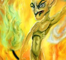 Elemental fire Sticker