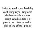 Boomer Cards - Birthday by Tim Norton