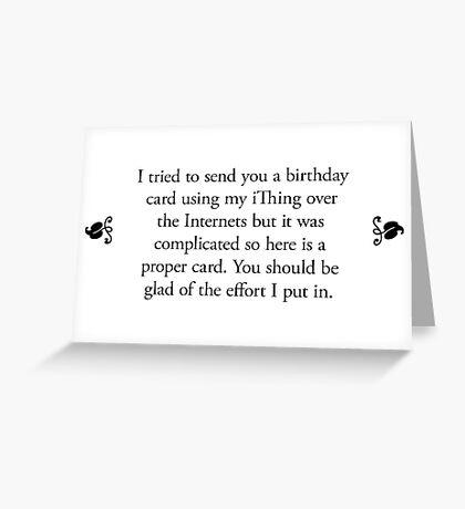 Boomer Cards - Birthday Greeting Card