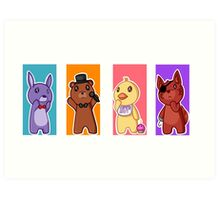 Five nights at Freddy's Art Print