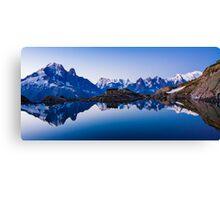 Lac Blanc Panorama Canvas Print