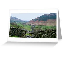 Langdale from Dungeon Ghyll Greeting Card