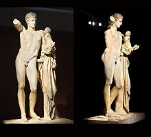 The Hermes of Praxiteles (180°) by Hercules Milas