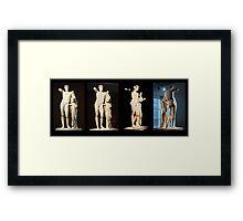 The Hermes of Praxiteles (180°) Framed Print