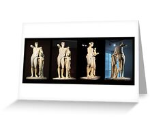The Hermes of Praxiteles (180°) Greeting Card