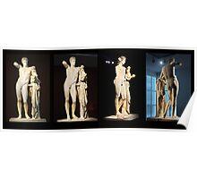 The Hermes of Praxiteles (180°) Poster