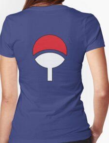 Uchiha Clan Symbol Womens Fitted T-Shirt