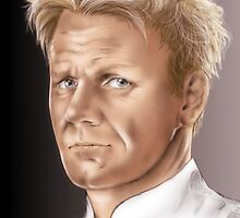 Gordon Ramsay - Hell's Kitchen by Dori Hartley