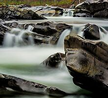 Cossatot River Falls by Chris Ferrell