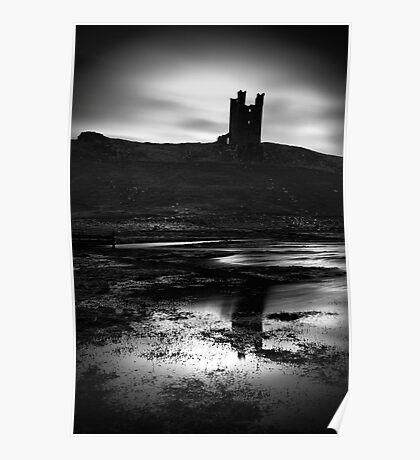 Dunstanburgh Castle, Northumberland, UK Poster