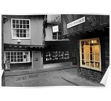 Little Shambles and a Glowing Window Poster