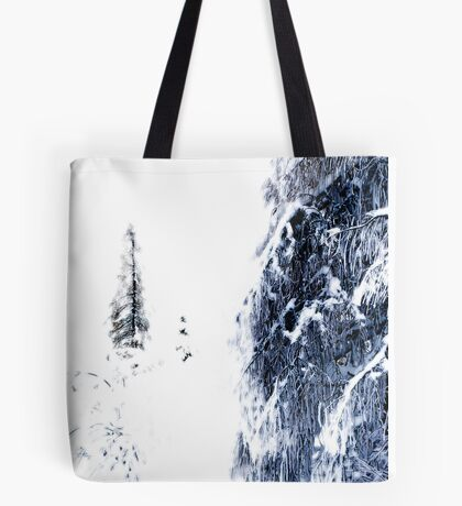 The Tree Black Forest Tote Bag