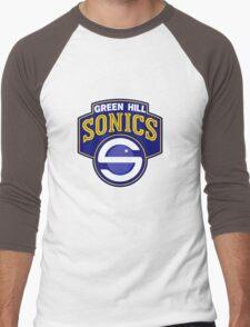 Sonic's Favorite Team Men's Baseball ¾ T-Shirt