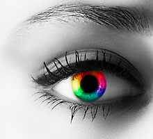 Rainbow Eye by Mark Kenwood