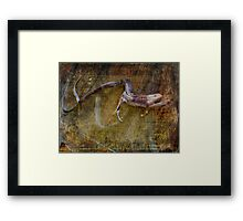 Lurking About Framed Print