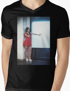 Michela Mens V-Neck T-Shirt