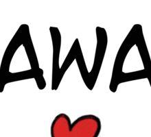 MANGA BUBBLES - KAWAII Sticker