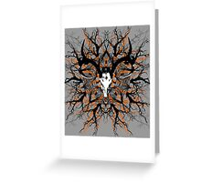 Pagan mandala 2 Greeting Card
