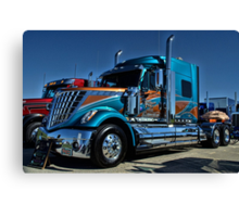 2013 International Semi Truck Southern Pride Canvas Print